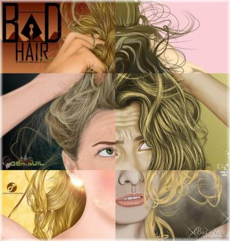 Bad Hair Collaboration with VXV co-member by demijavil