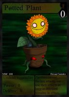 NecroMasters - NMC - 008 - Potted Plant by PlayboyVampire