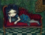 The Scarlet Sofa by jasminetoad