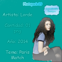 Photopack 29 Lorde by biancalovato