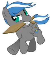 Commission-OC Vector, Cloud Zapper Colt by LostInTheTrees