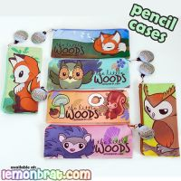 Pencil Cases from the Little Woods! by lemonbrat
