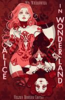 Alice In Wonderland Alternative Poster by cynthiafranca