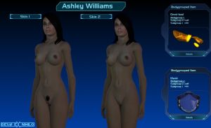 Nude Ashley Williams gmod release by DeusExNihilo
