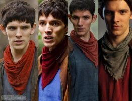 Merlin Series 1 - 4 by MagicalPictureMaker