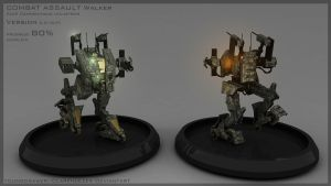 Combat Assault Mech by Clarencezer