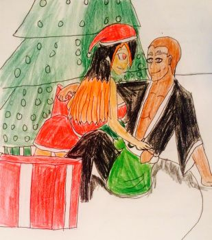 merry Christmas to Toto Ahao'i from Nikki by 14ladybuggirl