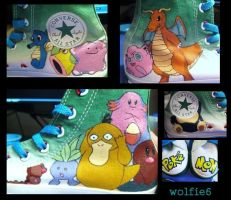 Pokemon Shoes by wolfie6