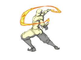Firebending Whip by moptop4000