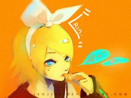 vocaloid- rin .tangy. by leojiaz