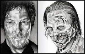 The Walking Dead by TheNightGallery