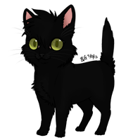 Vince The Kitten by brittoniawhite
