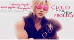Cloud wears Clourith Goggles by CaliforniaBabeWV