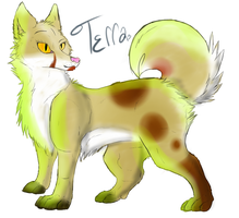 Terra by intoxicated-with-paw