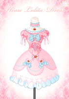 Hime Lolita Dress by Neko-Vi