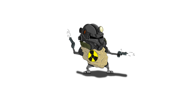 Fallout Potato! by TheCondemnedArtist