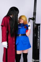 Alucard and Victoria by Bunnehmoe1