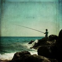 gone fishing by Laura1995