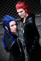 Kingdom Hearts - Lunaflames by MiraiSadame