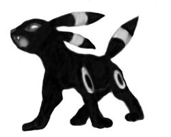 Umbreon I by taisaku