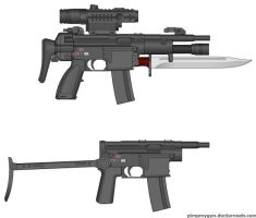 SMG's by TooawesomeANKER
