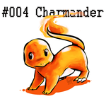 Charmander doodle by Frog-of-Rock
