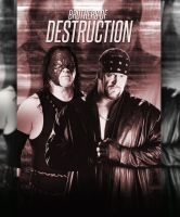 WWE Brothers Of Destruction Poster by princefarhan22