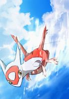 Speedy Latias by ArtExxo