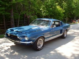1968 Mustang Shelby GT500 KR by TheCarloos