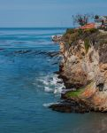 Shell beach cliff by kayaksailor