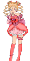 Cure Candy- Sweet Pretty Cure by Anime1423