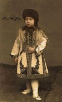 Little Princess Maria of Romania by Linnea-Rose