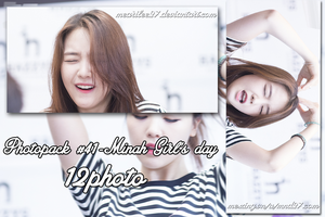 Photopack #41 - Minah Girl's day by mearilee27