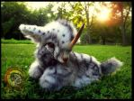 SOLD Hand Made Poseable Weighted Baby Unicorn! by Wood-Splitter-Lee