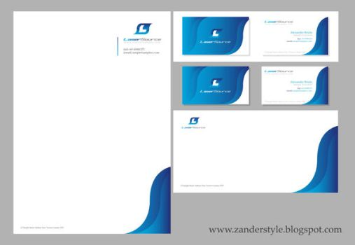 Corporate Identity Set One by Altimatre