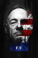 Frank Underwood by FabianMonk