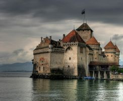 Chateau de Chillon by deviacKs