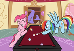 Commission: Game of Billiards by TheParagon