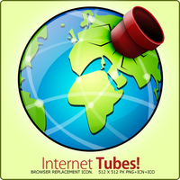 Internet Tubes by Flarup