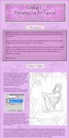 Photoshop Line Art Tutorial by Lienwyn