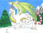 Holly the Christmas Dragon by mrinx