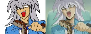 Bakura both by shadow-wolf04