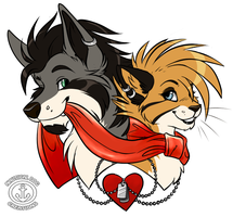 Mushy and Deni by nauticaldog