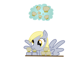 Dissatisfied Derpy by heroman4b3
