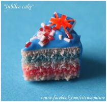 Cake collection: Jubilee Cake charm by citruscouture