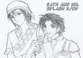 FE 7 - Rath and Wil by splashgottaito