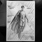 Superman Inkwash by caiocacau