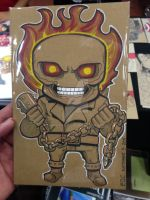 Ghost Rider Lil Dude by MARR-PHEOS