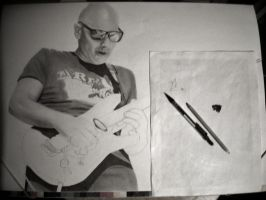 Joe Satriani W.I.P. 2 by Polonx