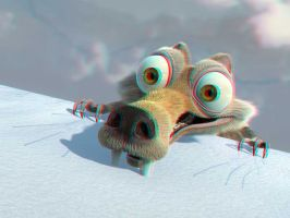 Another Scrat in 3-D by MVRamsey